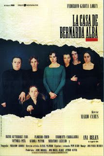 De cine no Esquío: La casa de Bernarda Alba Mario, Alba, Movie Posters, Movies, Vintage, Paper, Federico Garcia Lorca, Documentaries, Getting Married