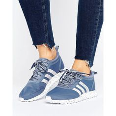 hot sale online 2b991 8fc79 ADIDAS Los Angeles Sneakers ( 98) ❤ liked on Polyvore featuring shoes,  sneakers,