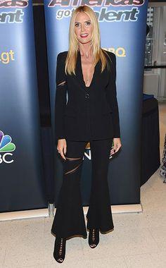 738b571e0d23 Heidi Klum at the  America s Got Talent  Season 10 Live Viewing Party on  September