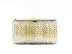 Leu Locati Handbag with gold mesh technique