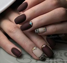 100+ Classic & Delicate French Manicure & other Beautiful Nail Art Designs 2016 2017
