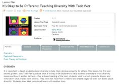 Lesson Plan It's Okay to Be Different: Teaching Diversity With Todd Parr