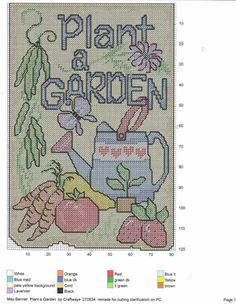 Plastic Canvas Crafts, Plastic Canvas Patterns, Green And Brown, Red And Blue, Canvas Door Hanger, Needlepoint, Cross Stitch Patterns, Banner, Kids Rugs