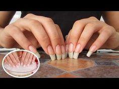 Receita Caseira Fácil de Endurecedor de Unhas Para Ter Unhas Grandes e Duras! Make Nails Grow, Hot Sauce Recipes, Nail Growth, Finger, Healthy Nails, Diy Manicure, Nail Treatment, Nail Tips, Nail Care