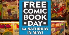 FREE Comic Book Day on http://www.icravefreestuff.com/