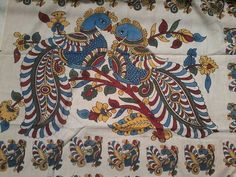 Madhubani Art, Madhubani Painting, Pichwai Paintings, Indian Paintings, Outline Drawings, Pencil Art Drawings, Kalamkari Designs, Kalamkari Painting, Peacock Art