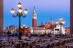 San Giorgio Maggiore from Piazzetta San Marco - Venice