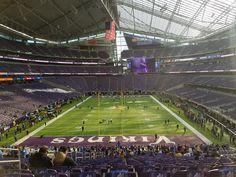 us bank stadium minnesota vikings we had a blast at the game awesome new stadium