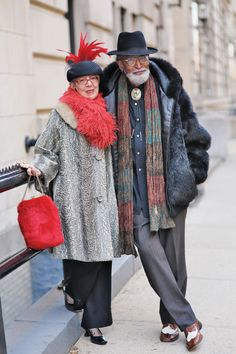 Ari Seth Cohen's book Advanced Style: Older & Wiser is chock-full of stylish older couples—here are our favorites.