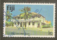 Fiji Scott 409b Town Hall Used 2.00