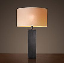 Square Column Table Lamp
