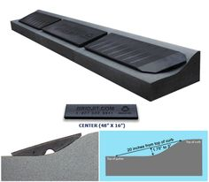 Add-On Extension for Driveway Curb Ramps