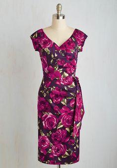 Slice of Layer Cake Dress in Purple