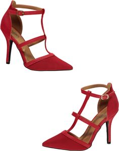 1a9778fc417 Ankle Buckle Strap Heel  22