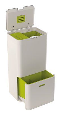 Totem Waste bin Stone by Joseph Joseph - Design furniture and decoration with Made in Design