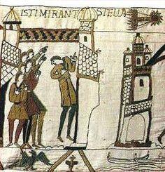 El paso del cometa Halley en 1066, Tapiz de Bayeux