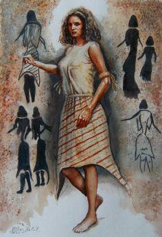 Libor Balák - Mesolithic Woman