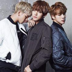 TAEHYUNG 150924 BTS for Star1 Magazine w/ #RAPMONSTER #JIN
