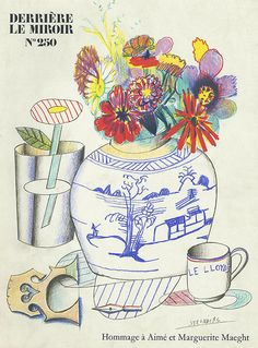 Buy online, view images and see past prices for Derriere le Miroir No. 250 - Hommage a Marguerite et Maeght - Edition - Invaluable is the world's largest marketplace for art, antiques, and collectibles. Saul Steinberg, The New Yorker, Sketchbook Inspiration, Paris, Graphic Art, Concept Art, Illustration Art, Fine Art, Cartoon