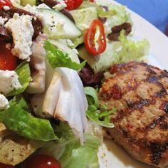 RecipeGreek Turkey Burgers