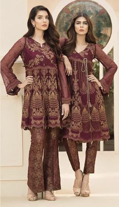 If you need to get started on your winter shopping, have got you sorted. They've stocked all the latest collections by and Order now from 🛍🛍 Pakistani Wedding Outfits, Pakistani Dresses, Indian Dresses, Indian Outfits, Latest Pakistani Fashion, Asian Fashion, Kurta Designs, Party Fashion, Fashion Outfits