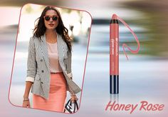 Heading out for an important work meeting? Accentuate your look with Chambor's Extreme Matte Lip Colour Honey Rose #02 and keep it classy!