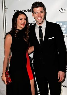 """Nina Dobrev and Austin Stowell attend the """"Bridge of Spies"""" Premiere at 53rd New York Film Festival (Oct 04)"""
