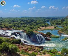 Waterfall in Crocodile river South Africa - Stock Photo , South Africa Holidays, South Africa Tours, Provinces Of South Africa, Crocodile, North West Province, Seaside Towns, Landscape Photos, Travel Photos, River