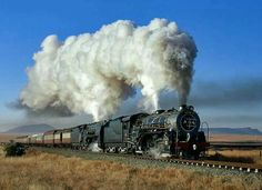 May 2017 - Steam locomotives used by the South African Railways. See more ideas about South african railways, Steam locomotive and Locomotive. Electric Locomotive, Steam Locomotive, South African Railways, Old Steam Train, Electric Train Sets, Bonde, Old Trains, Train Pictures, Steam Engine