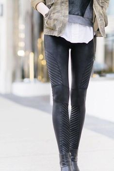 312dce4a582 Fashion and style inspiring ideas intended for women. Look very good in the  trendy less. Spanx Leather LeggingsBlack ...