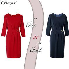 Sukienki z nowej kolekcji <3 Dostępne w aż 4 kolorach - granatowy, czerwony, czarny i butelkowa zieleń - na jaki kolor macie humor dzisiaj? http://bit.ly/SemperRed http://bit.ly/SemperBlue