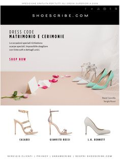 Dress Code: Matrimonio e cerimonie - Shoescribe | 26.04.2014
