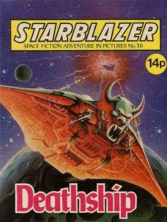 Starblazer - deathship