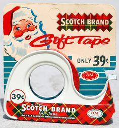 Scotch Brand Gift Tape, 1950's