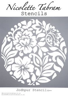 New Wall Stencil Patterns Templates Art Deco 46 Ideas Stencils, Stencil Diy, Stencil Patterns, Stencil Designs, Diy Furniture Projects, Diy Projects, Furniture Stencil, Machine Silhouette Portrait, Diy And Crafts
