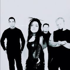 Evanescence- love this band. Would kill to have her voice.