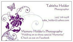 Memory Holder's photography