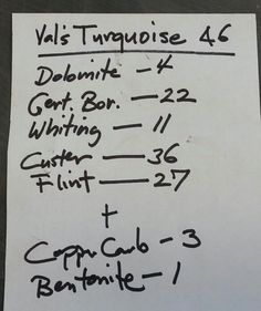 Val's Turquoise