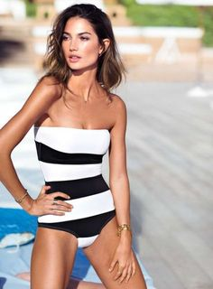 Just ordered this from VS... can't wait to try it on! I 27 Hot One-Piece Swimsuits To Rock This Summer   Styleoholic