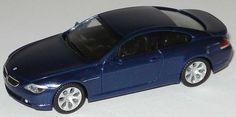 Herpa E63 BMW 645Ci (Dealer Edition) - Mystic Blue Metallic