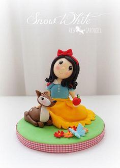 Snow White Cake Topper