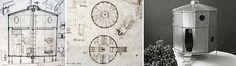 """El refugio """"Tonneau"""" es uno de los cuatro refugios de montaña (Cable shelter, Bivouac shelter, Tonneu barrel shelter, Shelter of double construction) proyectados por """"Charlotte Perriand"""" a finales de la la década de 1930, en este caso en colaboración con Pierre Jeanneret."""