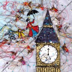 heidi rhodes textiles -- mary poppins