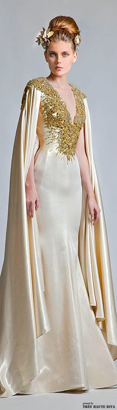 Lady Millionairess....Krikor Jabotian Couture 2013 | The House of Beccaria~ Gerd celebration dress