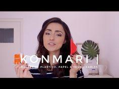Cómo doblar bolsas de plástico, papel, tela & reutilizables | Método KonMari por Marie Kondo - YouTube