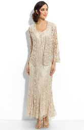 Soulmates Bead Crochet Dress & Jacket Mother of the groom