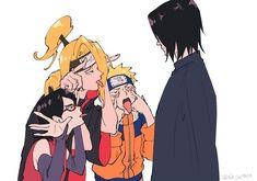 Anime Naruto, Naruto Sasuke Sakura, Naruto Cute, Naruto Shippuden Sasuke, Sarada Uchiha, Sasunaru, Otaku Anime, Narusasu, Wallpapers Naruto