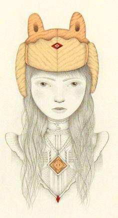 Jaime Zollars - Artwork - Fynlyn; She who seeks purpose(Nucleus | Art Gallery and Store)