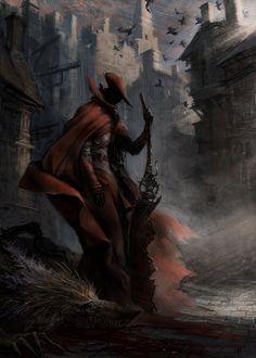 Bloodborne, Artem Demura on ArtStation at https://www.artstation.com/artwork/bloodborne-66e112ae-cda6-4b58-88ed-0375dea02369