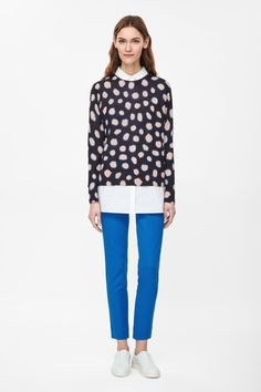 COS | Fine-knit printed jumper